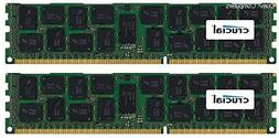 Crucial 32GB Kit  DDR3/DDR3L-1600 MT/s  DR x4 RDIMM Server M