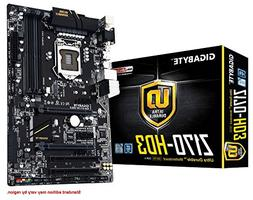 GIGABYTE LGA 1151 Z170 HDMI 2-Way CrossFire ATX DDR4 Motherb