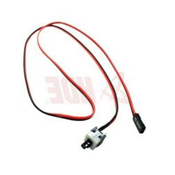 """HDE PC Case Power Push Button Cable ATX Computer On/Off 23"""""""