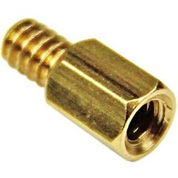 StarTech 6-32 Brass Motherboard Standoffs for ATX Computer C
