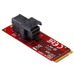 StarTech.com U.2 to M.2 Adapter - for 1 x U.2 PCIe NVMe SSD