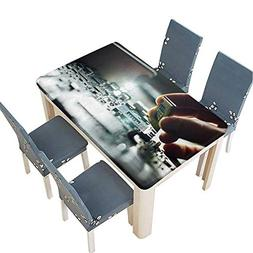 PINAFORE Spillproof Fabric Tablecloth Technician Plug in CPU