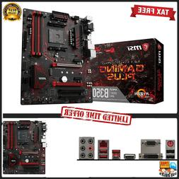 MSI Gaming AMD Ryzen B350 DDR4 VR Ready HDMI USB 3 ATX Mothe