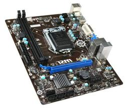 MSI H81M-P33 Desktop Motherboard - Intel H81 Chipset - Socke
