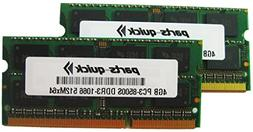 8GB Kit 2X 4GB Memory for Biostar G41D3C Motherboard DDR3-85