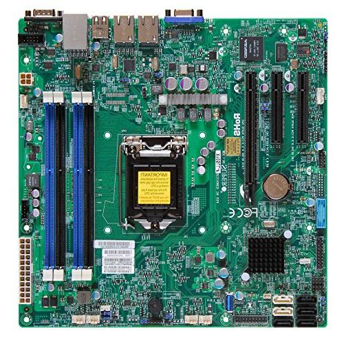 Supermicro Motherboard Micro ATX DDR3 1600 LGA 1150 Motherbo