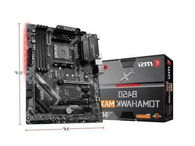 MSI B450 AM4 B450 6Gb/s ATX Motherboard