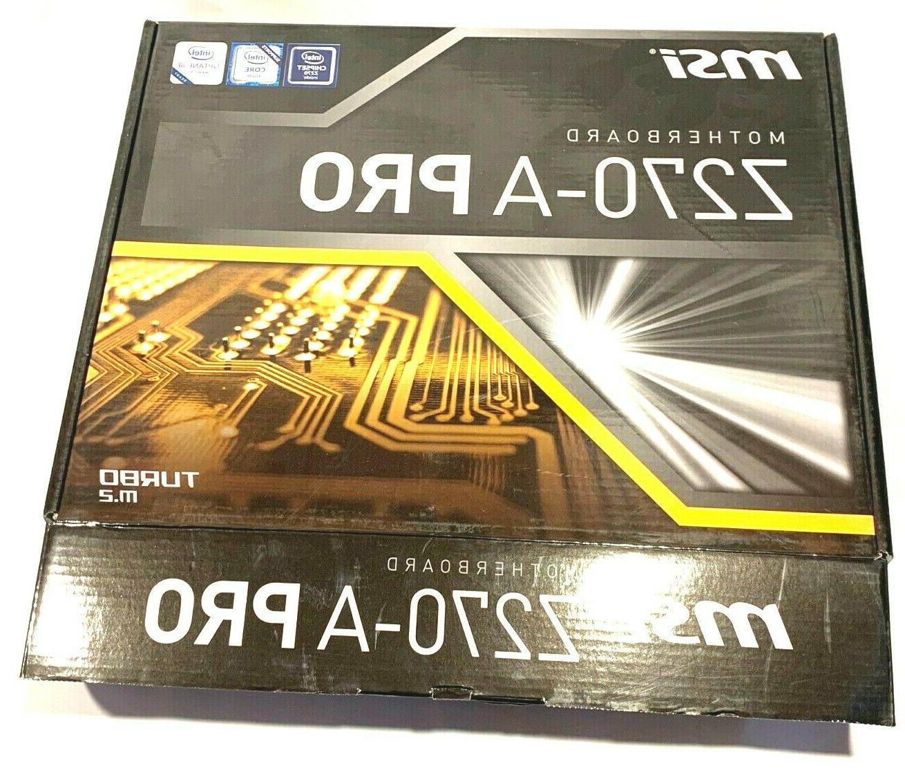 COMBO MSI MOTHERBOARD + 2.8 DDR4 USB