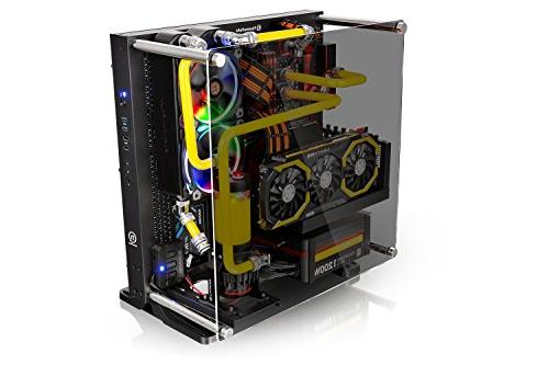 Thermaltake Tempered Case Panoramic Riser Cable Edition,