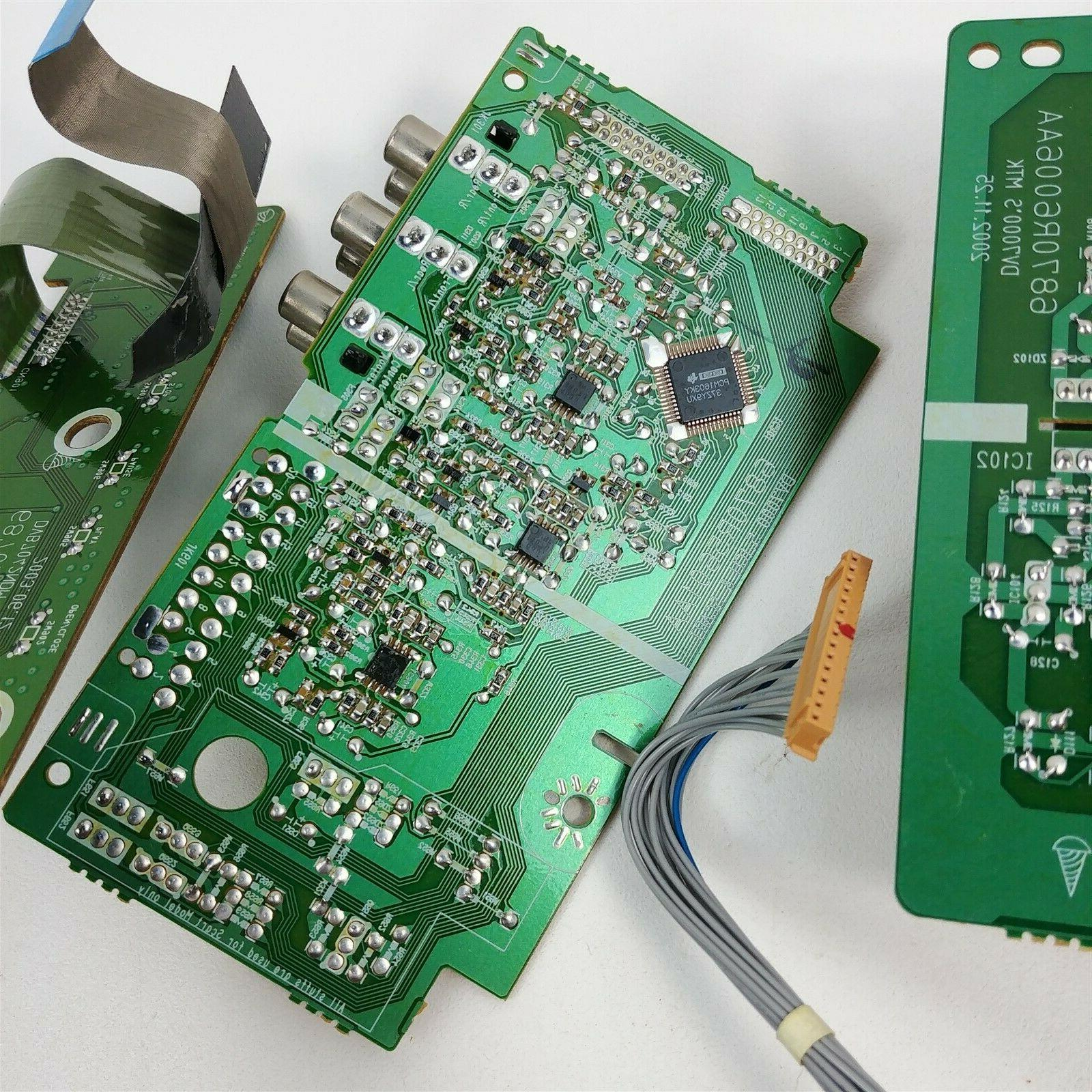 Toshiba DVD Player Replacement Internal Electrical Motherboard