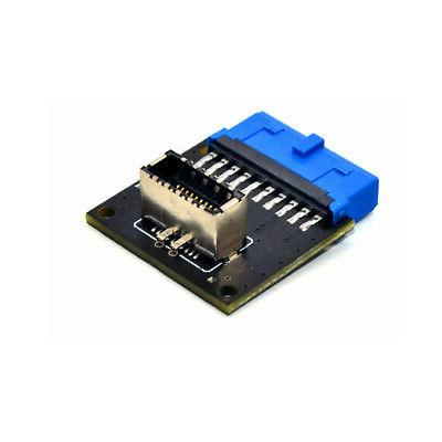 Motherboard Expansion Card USB3.0 19Pin To 3.1 Type-C Front