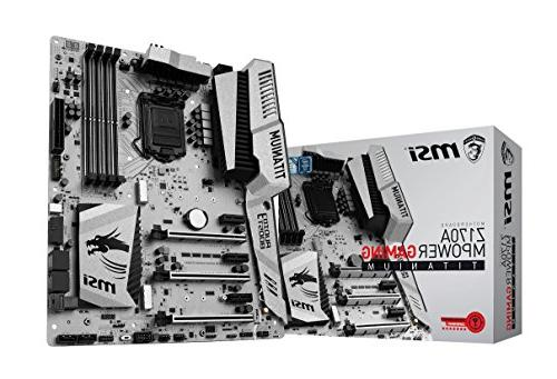 motherboard z170a mpower gaming titanium