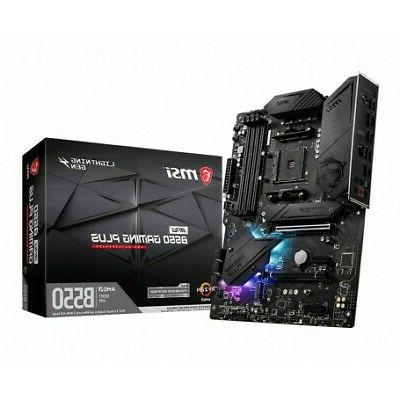 mpg b550 gaming plus socket am4 atx