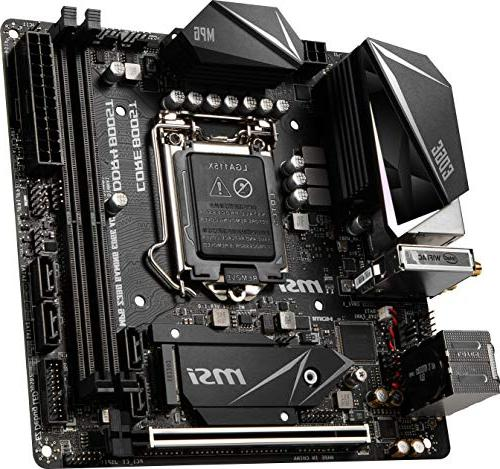 MSI MPG Z390I USB 3.1 DDR4 Mini Motherboard