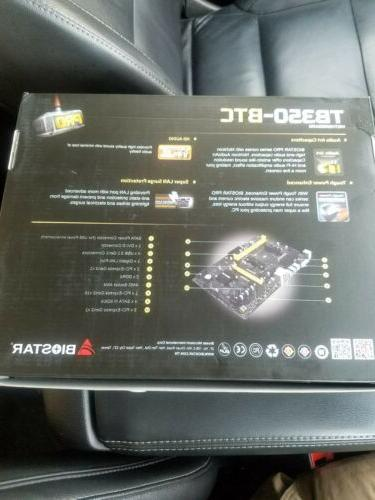 NEW TB350-BTC B350 Motherboard DDR4 AM4 ATX 3.1