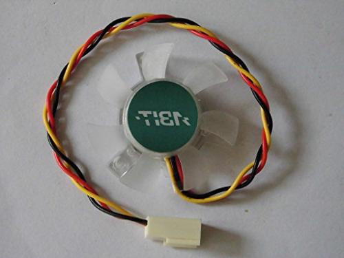 Replacement for ABIT IC7-G IC7-MAX3 North/South Bridge Motherboard 12V 0.09A 3Wire Fan