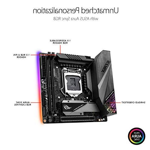 ASUS Gaming LGA1151 Mini ITX DDR4 DP HDMI M.2 USB Gen2