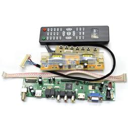 LCD TV Motherboard Controller Kit Driver For SAMSUNG MT215DW