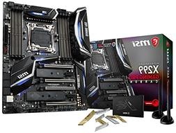 MSI LGA2066 X299 ATX Motherboard Support 7th Gen IntelAndreg