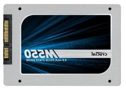"Crucial M550 128GB SATA 2.5"" 7mm  Internal Solid State Drive"