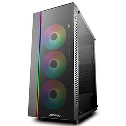 DEEPCOOL MATREXX 55 ADD-RGB 3F Case, E-ATX Supported, Mother
