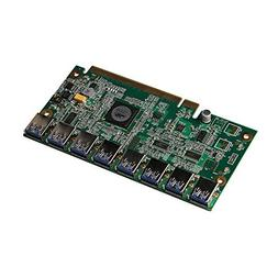 Motherboard PCI Express 1 to 8 Mining Riser Card PCI-E x16 D