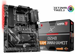 NEW MSI - B450 TOMAHAWK MAX  USB-C Gen2 AMD Motherboard - IN