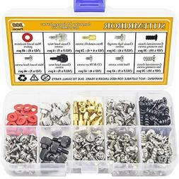 PC Computer Screws Standoffs Set Kit 300Pieces Hard Drive Mo