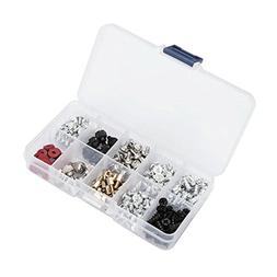 Fafada® 228pcs Personal Computer Screws & Standoffs Set Ass