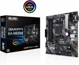 ASUS PRIME B450M-A II AMD Socket AM4 Motherboard AM4 3rd/2nd