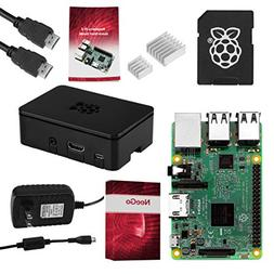 Raspberry Pi 3 COMPLETE Starter Kit, Black, 16GB Edition - P