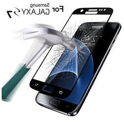 SAUS Samsung Galaxy S7 Tempered Glass screen protector, 3D C