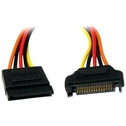 StarTech.com 12-Inch 15-Pin SATA Power Extension Cable with