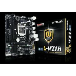 Ultra Durable GA-H110M-A Desktop Motherboard - Intel H110 Ch