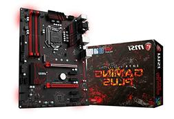 MSI Z270 GAMING PLUS LGA 1151 Intel Z270 SATA 6Gb/s USB 3.1